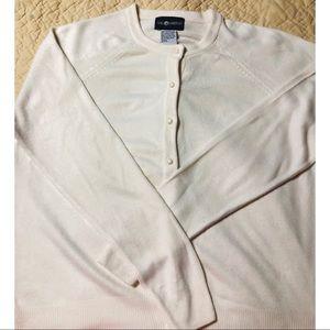 Sag Harbor cream cardigan